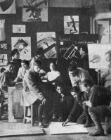 zolotoivek- Kazimir Malevich teaching students of UNOVIS, Vitebsk, 1925. zolotoivek- Kazimir Malevich teaching students of UNOVIS, Vitebsk, 1925.