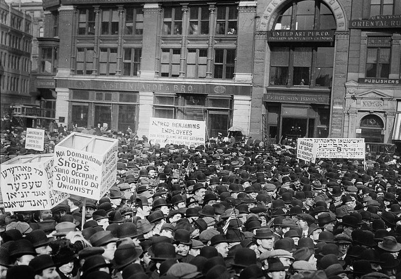 1 mai 1913 à New York