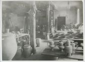Bauhaus Ceramics Workshop in Dornburg, 1924 [copy print]