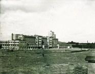 Kirov Palace of Culture on Vasileostrovskii island, designed by Noi Trotskii and S.N. Kazak (1931-1937), photo 1960
