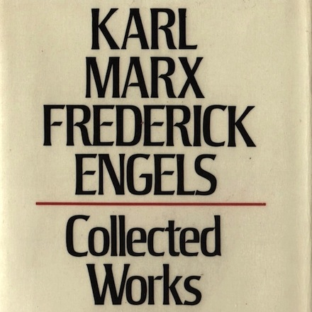 Copyright controversy over Marx & Engels' Collected Works