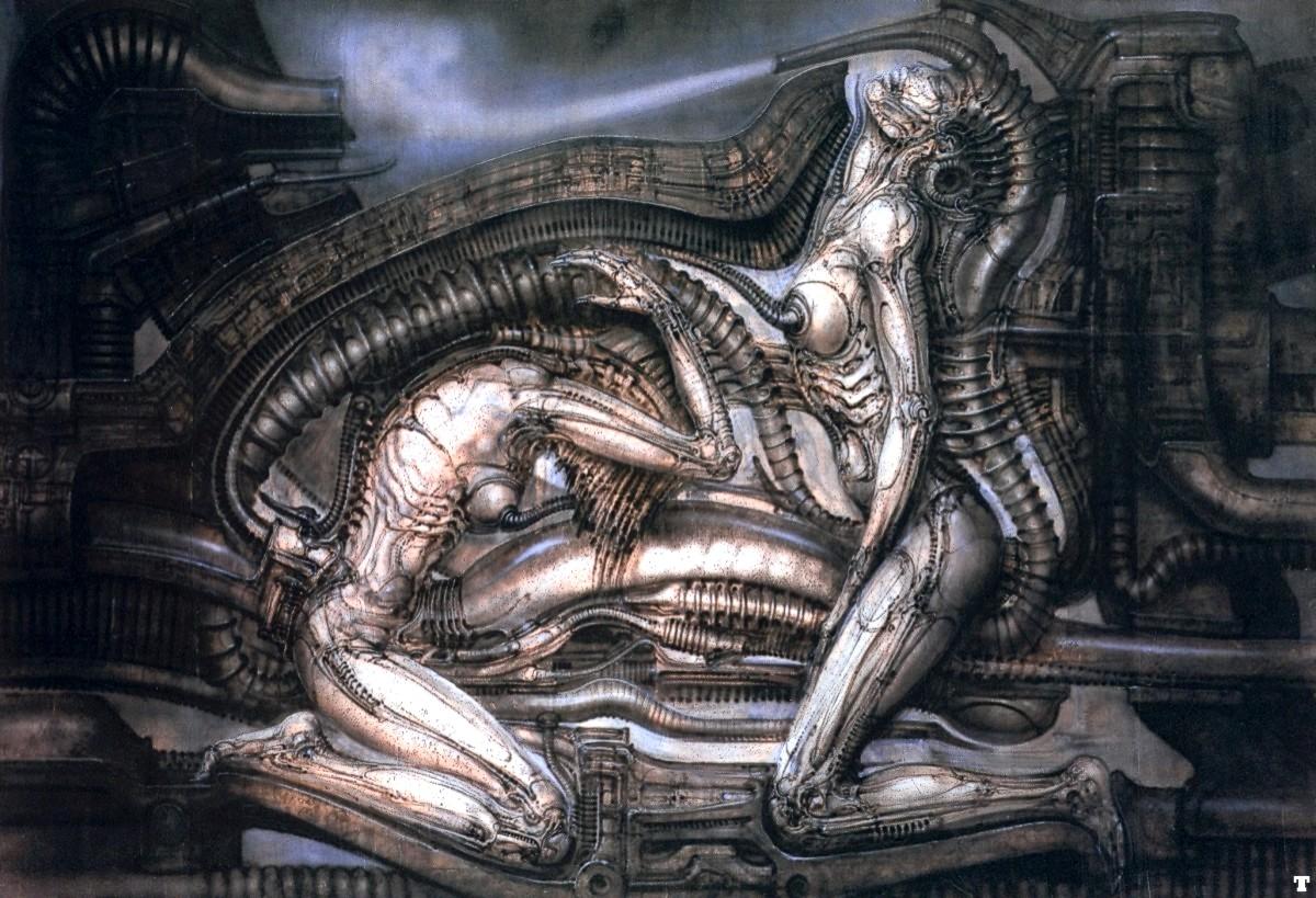 hr-giger-erotomechanics-vii1 | The Charnel-House H.r. Giger Art Sexual