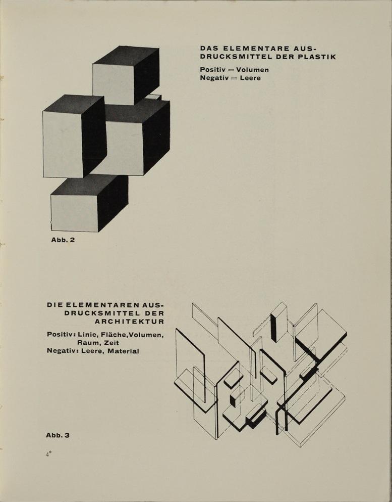 Theo van Doesburg, Grundbegriffe der neuen gestaltenden Kunst. Bd. 6, München 1925%0ATheo van Doesburg, Grundbegriffe der neuen gestaltenden Kunst. Bd. 6, München 1925-45