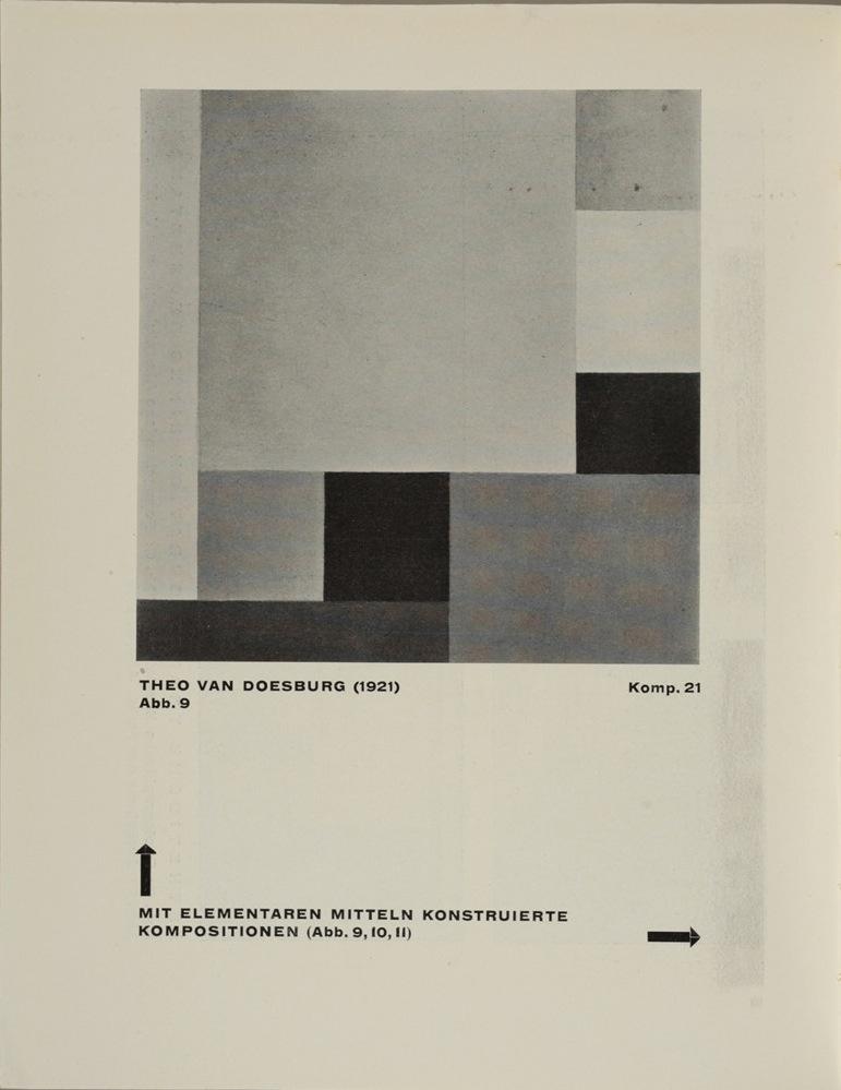 Theo van Doesburg, Grundbegriffe der neuen gestaltenden Kunst. Bd. 6, München 1925%0ATheo van Doesburg, Grundbegriffe der neuen gestaltenden Kunst. Bd. 6, München 1925-48