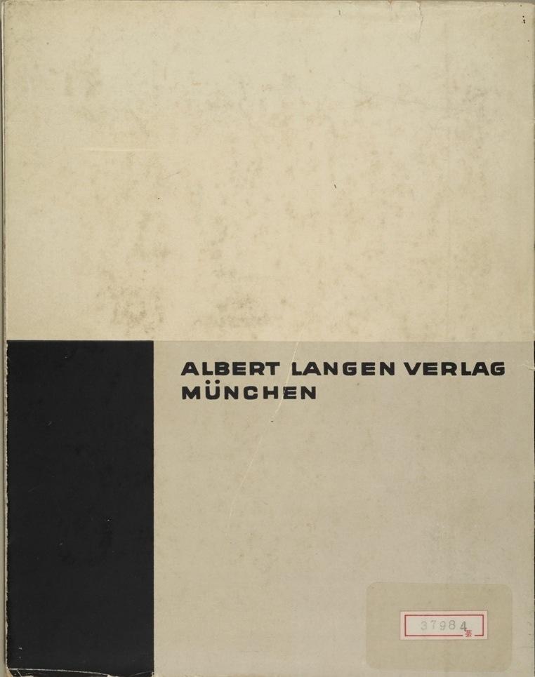 Theo van Doesburg, Grundbegriffe der neuen gestaltenden Kunst. Bd. 6, München 1925%0ATheo van Doesburg, Grundbegriffe der neuen gestaltenden Kunst. Bd. 6, München 1925-72