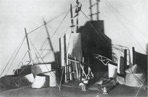 Vesnin and Popova, Stage for a mass demonstration for the Comintern1