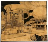 Antonio Sant'Elia - Project For The New Cemetery In Monza - 1912