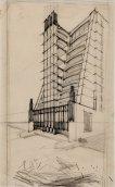 Casa a gradinata con ascensori esterni | Sant'Elia