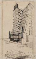 Casa a gradinata con ascensori esterni   Sant'Elia