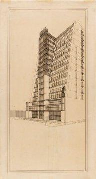 Casa a gradinata con ascensori esterni