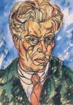 """László Moholy Nagy - """"Self-Portrait"""" 1919"""