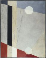 László Moholy-Nagy Hungarian (Bacsborsod, Hungary 1895 - 1946 Chicago, Ill., USA) Z vi, 1925 Painting Hungarian, 20th century Oil on canvas 95.2 x 75.6 cm