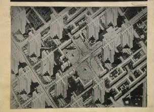 Le Corbusier urbanisme, cartesian towers