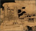 Nuovo Cimitero di Monza, veduta prospettica
