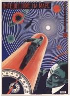Soviet movie poster Trip to Mars, 1925