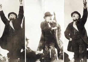 Jaurès au Pré-Saint-Gervais, mai 1913