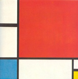 Piet Mondrian Completion Date- 1930 Style- Neoplasticism Genre- abstract painting Technique- oil Material- canvas Dimensions- 86 x 66 cm