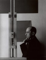 'Piet Mondrian, painter, New York 1942