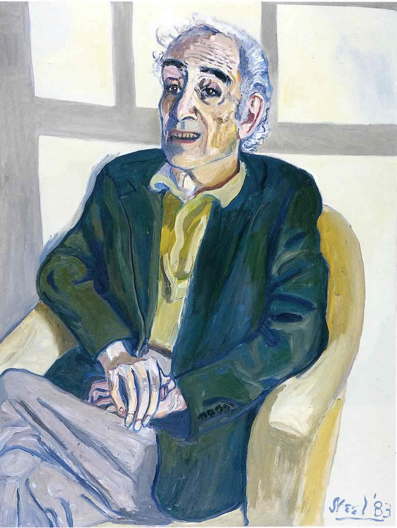 meyer-schapiro by Alice neel 83