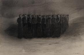 Alfred Kubin - Black Mass (1905)