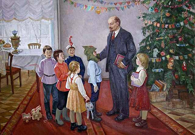 Creepy Christmas Lenin [Ленин на ёлке]