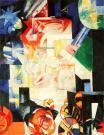 Aleksandra Ekster, Composition. 1914 Oil on canvas. 90.7 x 72.5 cm