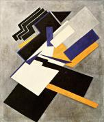 Olga Rozanova, Non-Objective Composition (Suprematism),1916 Oil on canvas, 60 x 74, cm