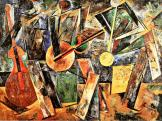 Varvara Stepanova, Musicians, 1920 Oil on canvas, 106 x 142 cm