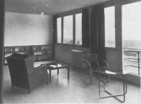 Innenraum, Mies van der Rohe 1927