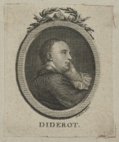 Bildnis Denis Diderot im Profil (1713-1784) Gottlob August Liebe - um 1760 - Münster, LWL-Museum für Kunst und Kultur
