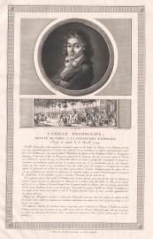 Bildnis des Camille Desmoulins - Berlin, Staatsbibliothek zu Berlin - Preußischer Kulturbesitz, Handschriftenabteilung 1