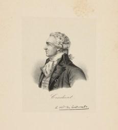 Bildnis des Condorcet - Leipzig, Universitätsbibliothek Leipzig, Porträtstichsammlung