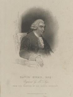 Bildnis des David Hume Page (1825) (ungesichert) - Jones and Company - Verlagsort- London - 1825 - Berlin, Staatsbibliothek zu Berlin