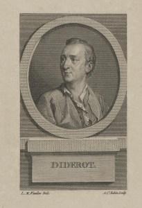 Bildnis des Denis Diderot Augustin de Saint-Aubin - 1776_1807 - Berlin, Staatsbibliothek zu Berlin