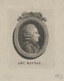 Bildnis des Guillaume Thomas François Raynal E. Henne - um 1780 - Halberstadt, Gleimhaus