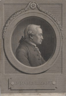 Bildnis des Immanuel Kant Johann Friedrich Bause - Verlagsort- Leipzig - 1791 - Berlin, Staatsbibliothek zu Berlin