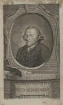 Bildnis des Moses Mendelssohn Johann Conrad Krüger - 1768 - Berlin, Staatsbibliothek zu Berlin