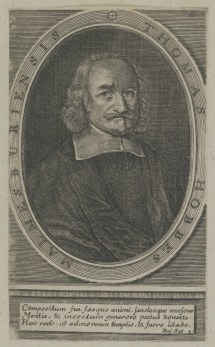 Bildnis des Thomas Hobbes - Nürnberg, Germanisches Nationalmuseum, Graphische Sammlung