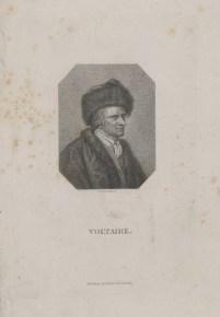 Bildnis des Voltaire Johann Christian Benjamin Gottschick - Gebrüder Schumann - Verlagsort- Zwickau - 1818_1832 - Berlin, Staatsbibliothek zu Berlin