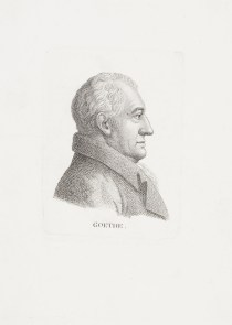 Bildnis Johann Wolfgang Goethe (1782 von) Ernst Ludwig Riepenhausen - Wolfenbüttel, Herzog August Bibliothek