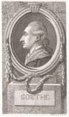 Bildnis Johann Wolfgang Goethe (1782 von) Georg Friedrich Schmoll - Wolfenbüttel, Herzog August Bibliothek