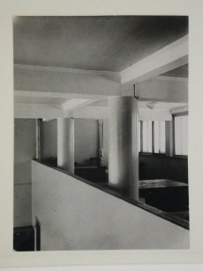 Gruntal, V.G. Interior view of the People's Commissariat for Finance (Narkomfin) Apartment Building showing a communal space [?], 25 Novinskii Boulevard, Moscow, after 1930