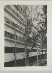 Gruntal, V.G. Partial view of the garden façade of the People's Commissariat for Finance (Narkomfin) Apartment Building, 25 Novinskii Boulevard, Moscow, after 1930