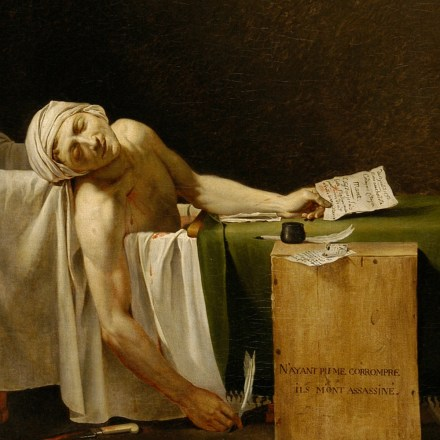 Image result for the death of marat