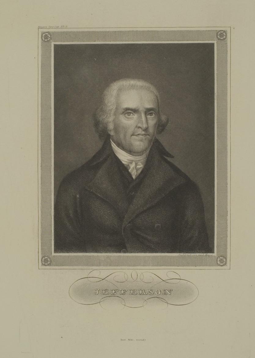 Thomas Jefferson Carl Mayer - - - - Universitätsbibliothek Heidelberg