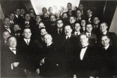 Bauhaus party in Weimar, 1924 Hannes Meyer on the lower right