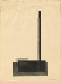 BR58.176 László Moholy-Nagy Composition Prints