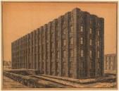 Hans Poelzig (1869-1936) Firma Gebr. Meyer, Hannover-Vinnhorst. Verwaltungsgebäude (1923-1924)z