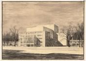 Hans Poelzig (1869-1936) Friedrich-Theater, Dessau (1935)