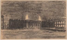 Hans Poelzig (1869-1936) Gedächtnisstätte für die Gefallenen des 1. Weltkrieges (Neue Wache), Berlin (1930)